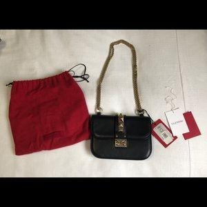 Valentino Rockstud Glam Lock Bag